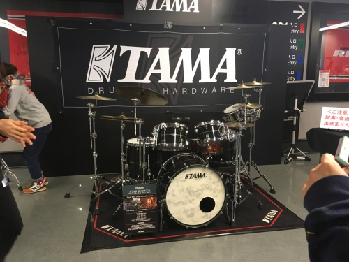 TAMA ブース