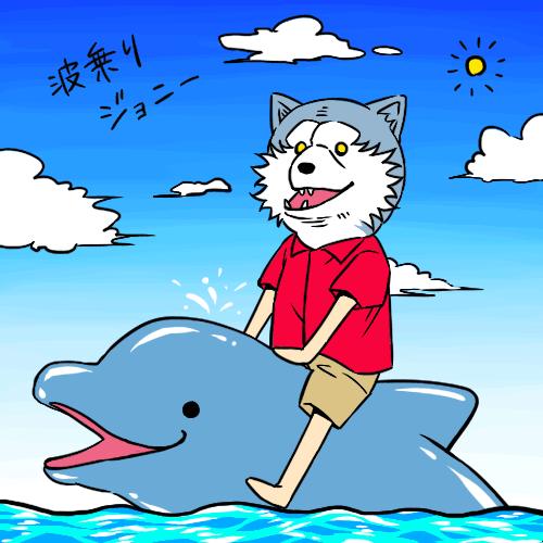 イルカとジャン・ケン・ジョニー